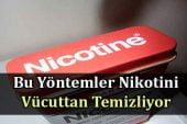 Bu Yöntemler Nikotini Vücuttan Temizliyor